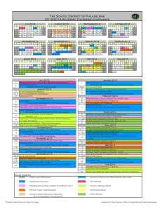 SDP Calendar 2013-2014