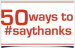 50 Ways to Say Thanks